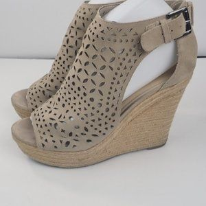 Marc Fisher Espadrille Sandal Wedges, Size 8 M